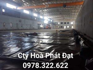 Quy trình sản xuất màng chống thấm HDPE