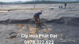 Thi công hàn bạt HDPE
