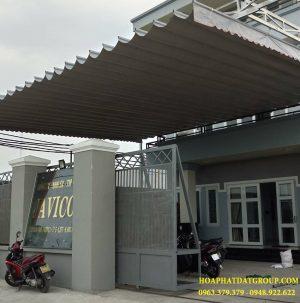 Địa chỉ chuyên lắp đặt mái hiên tại Tp Hcm, mái xếp bạt kéo lượn sóng uy tín tại Tp Hcm