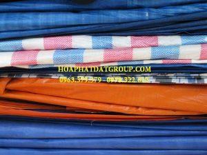 Báo giá vải bạt giá rẻ, bạt sọc, bạt dứa, bạt xanh cam các khổ lớn nhỏ tạiHuyện Long Thành