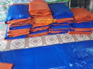 Báo giá vải bạt giá rẻ, bạt sọc, bạt dứa, bạt xanh cam các khổ lớn nhỏ tạiHuyện Bàu Bàng
