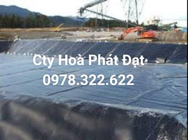 Báo giá cung cấp thi công vải bạt, màng chống thấm nước HDPE lót ao hồ tôm cá tại Huyện Định Quán