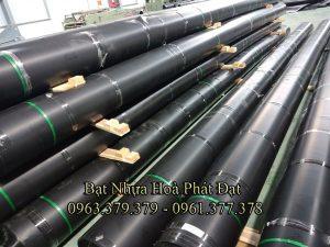 Bảng giá thi công lót bạt ao hồ chứa nước, màng (bạt) chống thấm HDPE đen nuôi cá tôm tại Quy Nhơn Bình Định