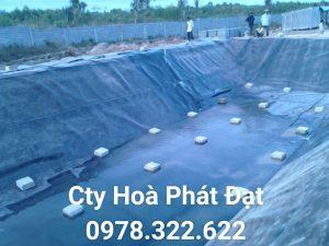 Bảng giá thi công lót bạt ao hồ chứa nước, màng (bạt) chống thấm HDPE đen nuôi cá tôm tại Quận 5 Tp Hcm