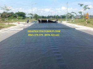 Báo giá cung cấp thi công vải bạt, màng chống thấm nước HDPE lót ao hồ tôm cá tại Tp Long Xuyên An Giang
