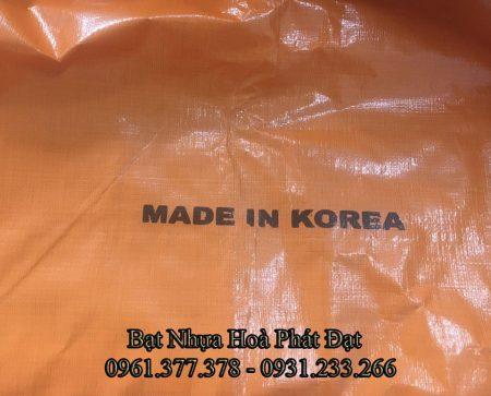 Báo giá bán bạt nhựa giá rẻ, bạt xanh cam, bạt 3 sọc, bạt che phủ khổ lớn